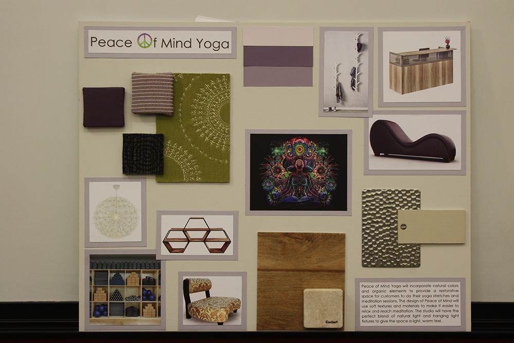 Concept Board Sisson Art Gallery