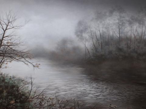 Nankin Lake After the Storm - Donald Cronkhite